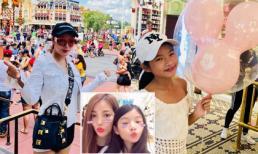 Con gái Trương Ngọc Ánh tíu tít đi chơi cùng mẹ ở Mỹ vào dịp nghỉ hè