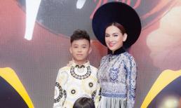 Bẵng đi một thời gian, Hồ Văn Cường đã lớn phổng phao, đi diễn thời trang cùng mẹ Phi Nhung
