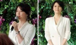 'Nàng Dae Jang Geum' Lee Young Ae rạng rỡ xuất hiện sau thông tin 'trở mặt' với đoàn làm phim bom tấn