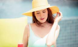 Hoa hậu Phương Lê diện bikini nóng bỏng, khoe nhan sắc 'không tì vết' ở tuổi tứ tuần