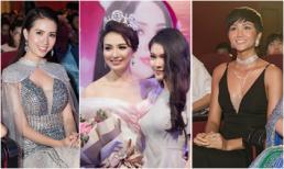 Dàn mĩ nhân Việt nô nức đến chúc mừng Ngọc Diễm kỉ niệm 10 năm đăng quang Hoa hậu du lịch Việt Nam 2008