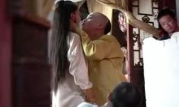 To gan lẻn vào tận giường lại còn 'cưỡng hôn' Hoàng thượng, nhưng sự thật chính Càn Long lại dạy cho Anh Lạc cách hôn