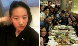 """Lưu Diệc Phi đón sinh nhật lần thứ 31 cùng đoàn làm phim """"Hoa Mộc Lan"""""""