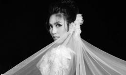 Trước ngày lên xe hoa với bạn trai doanh nhân, Lan Khuê khoe nhan sắc rực rỡ trong váy cưới cô dâu