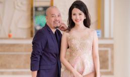 NTK Đức Hùng và Hoa hậu Thu Thủy dính nhau như sam tại sự kiện