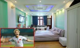 Khám phá phòng riêng rộng đẹp lung linh của cầu thủ Văn Toàn 'tóc bạch kim'