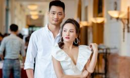 Vợ chồng Bảo Thanh dắt tay tình tứ dự họp báo VTV Awards 2018