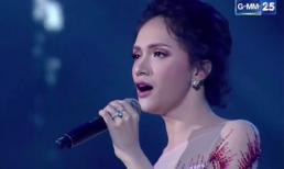 Hương Giang khoe giọng với hit khủng 'Never Enough' tại Hoa hậu Chuyển giới Hoàn vũ Thái Lan