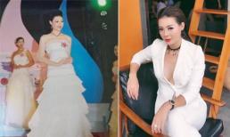Hé lộ ảnh hiếm thời thi Hoa hậu của Thanh Hương 'Quỳnh Búp bê'