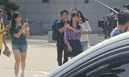 Lộ những hình ảnh đầu tiên của Song Hye Kyo trên phim trường 'Boyfriend'