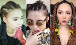 Chán cắt nhuộm, sao Việt 'đổi gió' với kiểu tóc tết cá tính