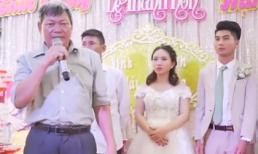 Bài phát biểu đám cưới đầy 'tâm huyết' của người bác khiến cả hôn trường... ngẩn ngơ