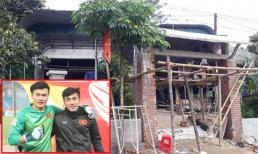 Anh em thủ môn Bùi Tiến Dũng xây nhà mới tiện nghi hơn cho bố mẹ ở quê