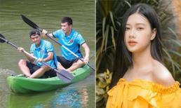 Trước tin đồn hẹn hò cô nàng xinh như hot girl, cầu thủ Hà Đức Chinh phản ứng khôn khéo