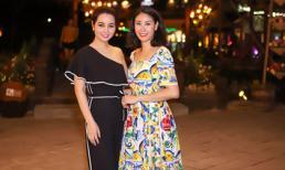 Hà Kiều Anh rủ em trai và diễn viên Mai Thu Huyền thăm Hội An