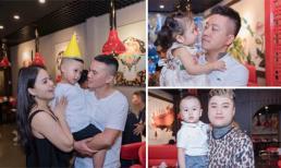 Vợ chồng Tú Dưa tổ chức tiệc hoành tráng mừng con gái lớn đỗ đại học, con trai út sinh nhật 4 tuổi