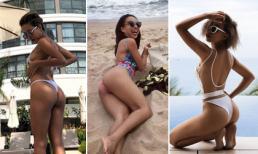 Thảo Trang chăm chỉ diện bikini, ngày càng nóng bỏng hơn sau sinh con