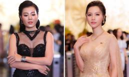Minh Hà, Thanh Hương rạng rỡ với đầm Victory Wedding tại VTV Awards 2018