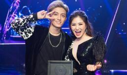 Lần đầu có học trò đi thi, Hương Tràm xuất sắc đưa Tùng Dương lên ngôi Quán quân The Debut 2018