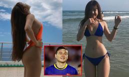 Cứ tưởng người yêu của dàn U23 Việt Nam đã đủ nóng bỏng cho tới khi xuất hiện 'bạn gái tin đồn' thủ môn Lâm Tây