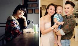 Loạt ảnh hiếm hoi về nhan sắc ngày càng xinh đẹp của bà xã Nam Cường sau sinh con