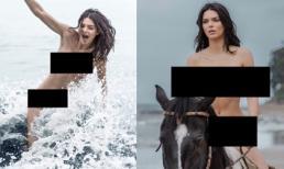 Kendall Jenner lộ bộ ảnh gây sốc, trở thành cái tên được nhắc đến hàng đầu mạng xã hội