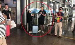 Giữa tâm bão, Kiều Minh Tuấn bị bắt gặp đi Đà Nẵng cùng Cát Phượng