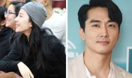 Lưu Diệc Phi gầy xơ xác, bạn trai cũ Song Seung Hun lại phong độ ngời ngời