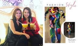 Hoa hậu Thu Hoài được sao Hong Kong Hồ Hạnh Nhi tặng trang phục hàng hiệu hơn 100 triệu