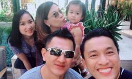 Hai gia đình Lam Trường và Thanh Thảo hẹn hò giữa đất Mỹ