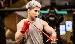 Chi Dân khoe cơ bắp cuồn cuộn trong bộ ảnh boxing nổi loạn