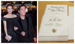 Dù giàu có nổi tiếng nhưng đám cưới Trường Giang chỉ đãi vỏn vẹn 20 bàn