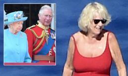 Bà Camilla tự tin mặc áo tắm ở tuổi 71, đi nghỉ cùng người đàn ông lạ giữa tin đồn bị chồng đuổi ra khỏi cung điện
