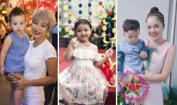 Dàn nhóc tì nhà sao Việt đón Tết trung thu 2018 ra sao?