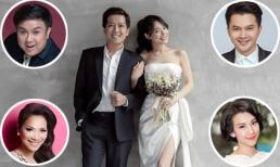 Loạt sao Việt gửi lời chúc mừng hôn lễ Trường Giang và Nhã Phương