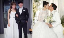 Minh Hà khéo đáp khi bị chê mặc 'kỳ cục', lộng lẫy hơn cả cô dâu Nhã Phương