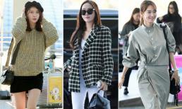 'Ngẩn ngơ' với thời trang sân bay siêu xinh của Yoona, Shin Min Ah, Jessica