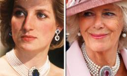 Là 'tình địch' nhưng Camilla Parker vẫn 'sao chép' trang sức của Công nương Diana
