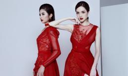 Hai nàng Hậu Ngọc Hân - Hoàng Anh quyến rũ cùng váy đỏ