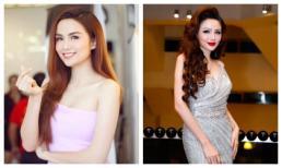 Hoa hậu Diễm Hương lại gây xôn xao với khuôn mặt khác lạ và đầy son phấn