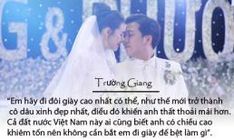 Cùng nhìn lại những lời nói ngôn tình của Trường Giang dành cho cô dâu Nhã Phương trong ngày cưới