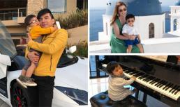Mẹ là doanh nhân giàu có, bố làm ca sĩ nổi tiếng, con trai Đan Trường sống sung sướng ra sao?