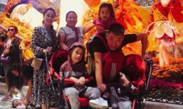 Gia đình Ốc Thanh Vân hào hứng khám phá Las Vegas về đêm