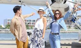 'Chị Đại' Next Top châu Á - Cindy Bishop khám phá vịnh Hạ Long khi đi thủy phi cơ cùng Hồ Ngọc Hà