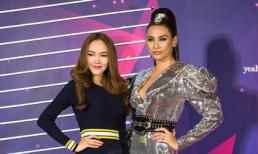 Hành động bất ngờ của Võ Hoàng Yến chứng minh quan hệ với Minh Hằng trong chương trình The Face