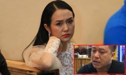 Vợ Tuấn Hưng chỉ biết khóc khi liveshow của chồng bị hủy giữa chừng