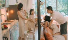 Lưu Hương Giang - Hồ Hoài Anh lần đầu khoe mái ấm nhỏ với gia đình đủ 4 thành viên