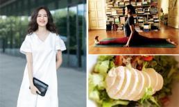 Bí quyết giúp Hoa hậu Thu Thủy dáng thon, da đẹp mịn màng ở tuổi 42