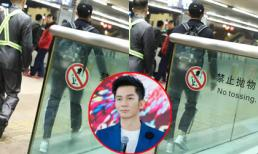 Lý Thần xuất hiện tại sân bay Bắc Kinh, vội vã ra xe về nhà an ủi bạn gái Phạm Băng Băng