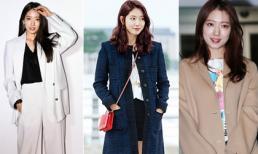 Lên đồ cực khéo, Park Shin Hye khiến chị em rần rần học hỏi khi giao mùa từ thu sang đông